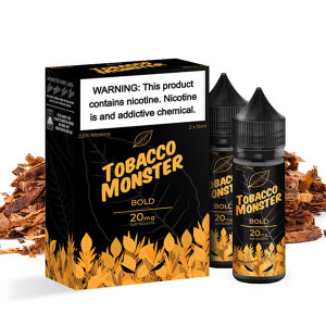 Bold Tobacco Salt Nic E-liquid By Tobacco Monster
