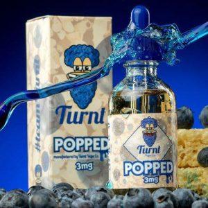 Turnt Vape Co. - Blueberry Popped - 60ml / 3mg