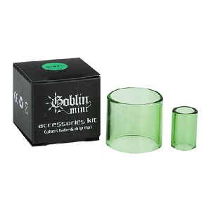 Youde Goblin Mini Glass & Drip Tip Set - Clear