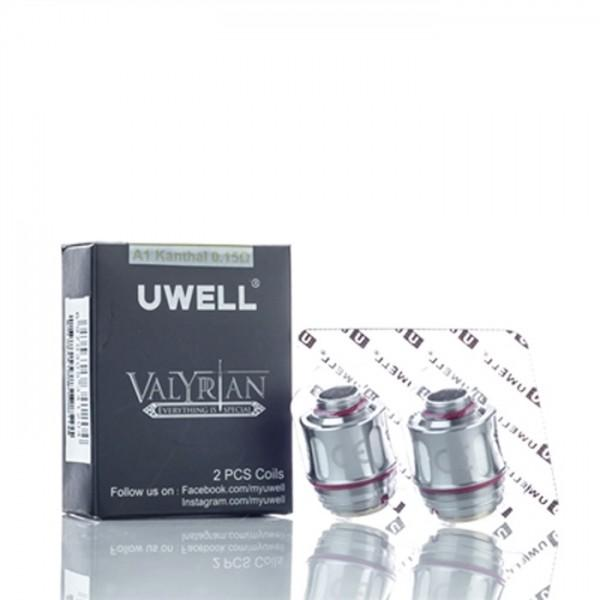 Uwell Valyrian Replacement Coils (2-Pack) - Default Title