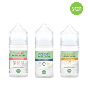 Naked 100 CBD Vape Juice Bundle