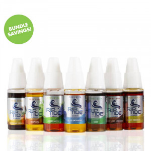 RipTide TFN E-Liquid Flavor Flight (7-Pack)
