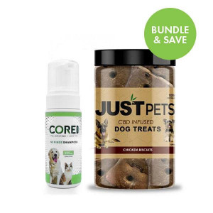 CBD pet care bundle