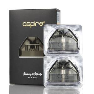 Aspire AVP Replacement Vape Pod Cartridges (2-Pack)