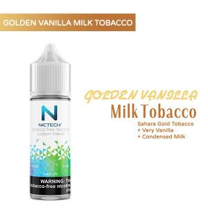 Golden Vanilla Milk Tobacco Vape Juice