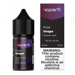 VaporFi Pure Grape Nic Salts (30mL)