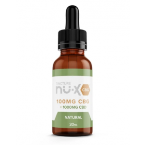 Natural CBG Tincture by Nu-X