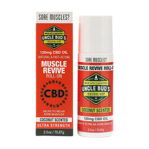 Uncle Bud's Revive CBD Roll On