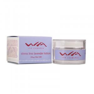 WA Stress Less CBD Lavender Lotion (500mg)