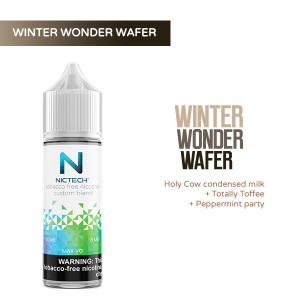 Winter Wonder Wafer Vape Juice
