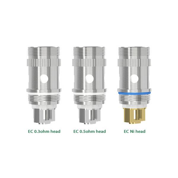 Eleaf EC Coil Head 0.5ohm/0.3ohm/0.15ohm - 5pcs/pack