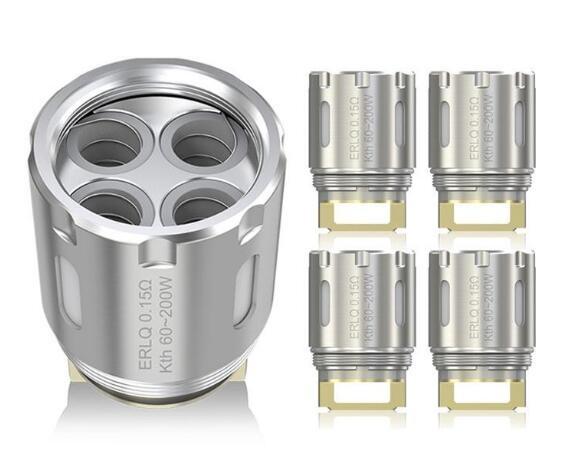 Eleaf MELO RT 25 ERLQ Quadruple Coil Head 0.15ohm - 5pcs/pack