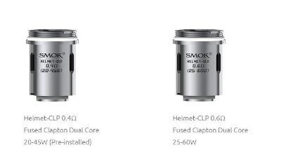 SMOK HELMET-CLP Fused Clapton Dual Core Coils 0.4/0.6ohm - 5pcs/pack