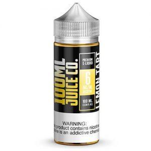 100ml Juice Co - Lemon Tart - 100ml / 6mg