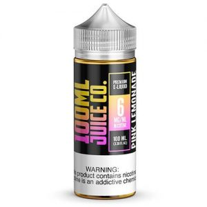 100ml Juice Co - Pink Lemonade - 100ml / 0mg
