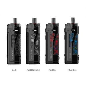 SMOK SCAR-P5 80W Pod Mod Kit - Stabilizing Wood - Red