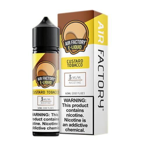 Air Factory Eliquid - Custard Tobacco - 60ml / 6mg