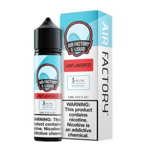Air Factory Eliquid - Unflavored - 60ml / 3mg
