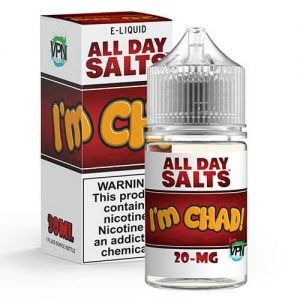 All Day Salts by VPN Liquids - I'm Chad - 30ml / 35mg