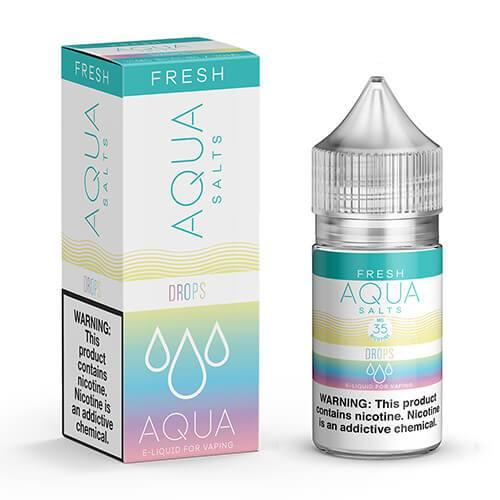 Aqua eJuice Synthetic SALTS - Drops - 30ml / 50mg