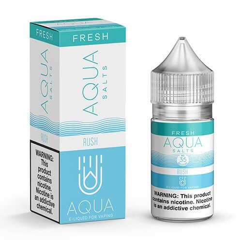 Aqua eJuice Synthetic SALTS - Rush - 30ml / 50mg