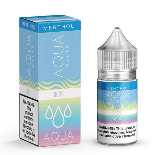 Aqua eJuice Synthetic SALTS - Drops Menthol - 30ml / 35mg