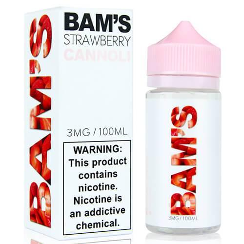 BAM's Cannoli - Strawberry Cannoli - 100ml / 0mg