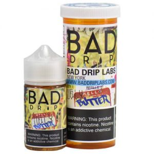 Bad Drip E-Juice - Ugly Butter - 60ml / 3mg