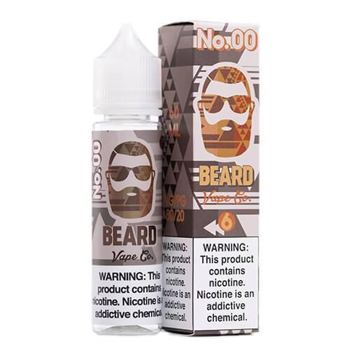 Beard Vape Co. - #00 Sweet Tobaccocino - 120ml / 6mg