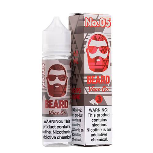 Beard Vape Co. - #05 Strawberry Cheesecake - 120ml / 6mg