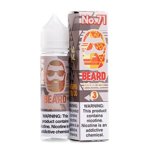 Beard Vape Co. - #71 Sweet and Sour Sugar Peach - 120ml / 12mg