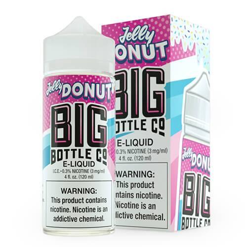 Big Bottle Co. E-Juice - Jelly Donut - 120ml / 3mg