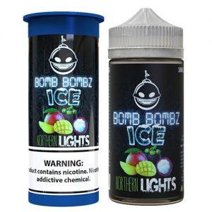 Bomb Bombz Premium E-Liquid - Northern Lights ICE - 100ml / 0mg