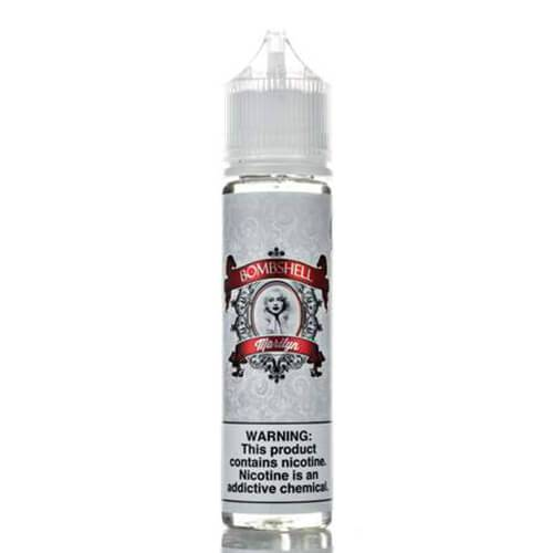 Bombshell Premium E-Liquid - Marilyn - 60ml / 0mg