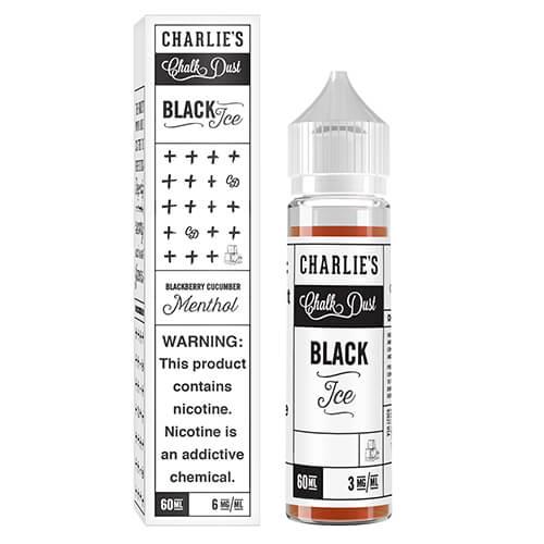 Charlie's Chalk Dust eJuice - Black Ice - 60ml - 60ml / 0mg