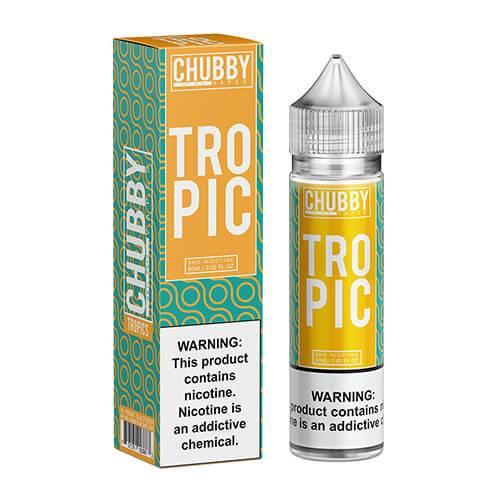 Chubby Bubble Vapes - Tropic - 60ml / 0mg