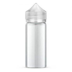 Chubby Gorilla Vaping Products - Clear Unicorn Bottle - 120ml - 120ml