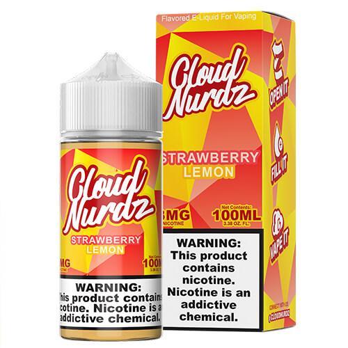 Cloud Nurdz eJuice - Strawberry Lemon - 100ml / 3mg