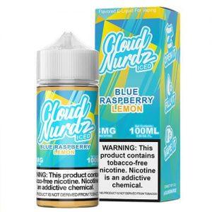 Cloud Nurdz TFN - Blue Raspberry Lemon ICED - 100ml / 3mg