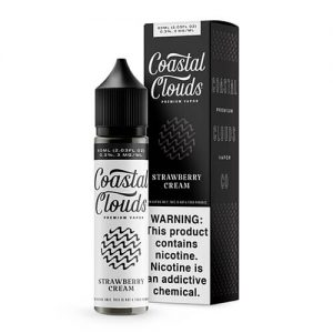 Coastal Clouds - Strawberry Cream (The Voyage) - 60ml / 3mg