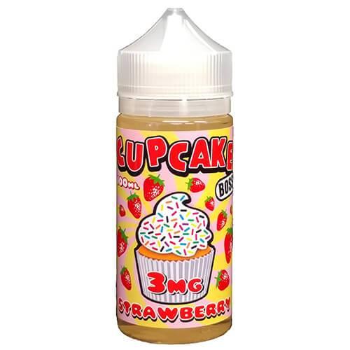 Cupcake Boss - Strawberry eJuice - 100ml / 0mg