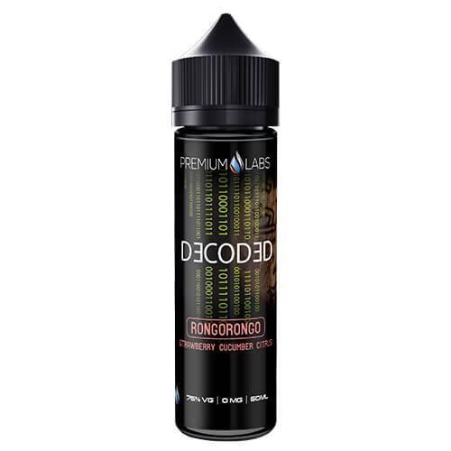 Decoded eLiquid - Rongorongo - 60ml / 3mg