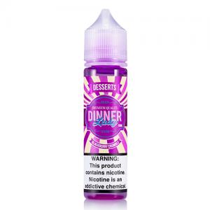 Dinner Lady Premium E-Liquids - Blackberry Crumble - 60ml / 0mg