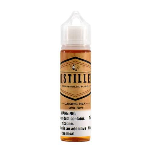 Distilled eLiquid - Caramel Milk - 60ml / 12mg