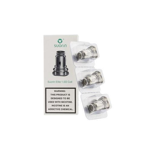 Suorin Elite Replacement Coils (3 Pack) - 1.0ohm