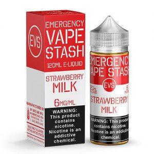 Emergency Vape Stash - Strawberry Milk - 120ml / 6mg