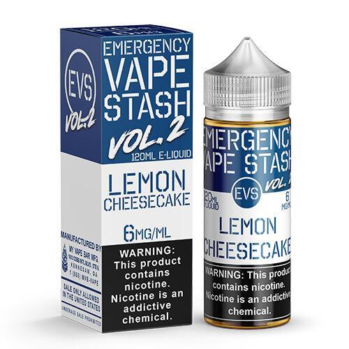 Emergency Vape Stash Vol 2 - Lemon Cheesecake - 120ml / 6mg