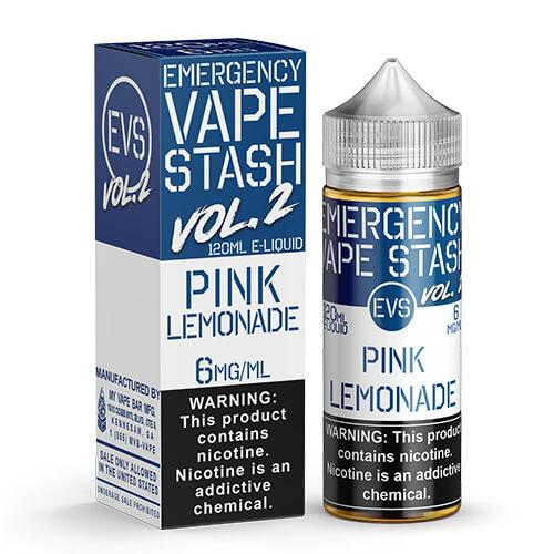 Emergency Vape Stash Vol 2 - Pink Lemonade - 120ml / 0mg
