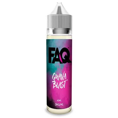 FAQ Vapes - Guava Blast - 60ml / 3mg