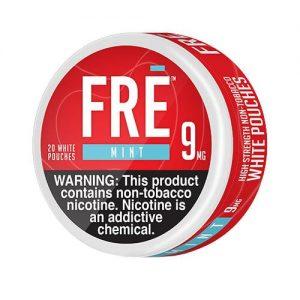 FRE Non-Tobacco Nicotine Pouches - Mint - Single / 9mg